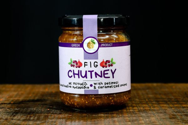 Chutney σύκου με πετιμέζι και καραμελωμένα κρεμμύδια