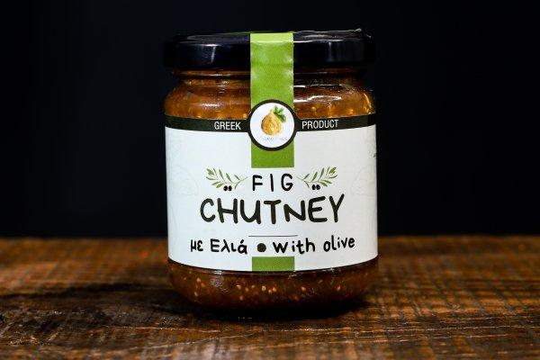 Chutney σύκου με Ελιά